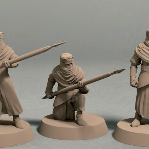 Nights Cult spearman pack front