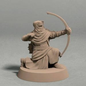 Nights Cult archer pose 3 front